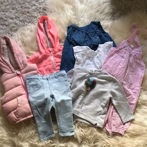 Zara baby clothing - $45 (6-9 months)